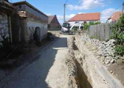 Obec Zaječí -  Výstavba vodovodů